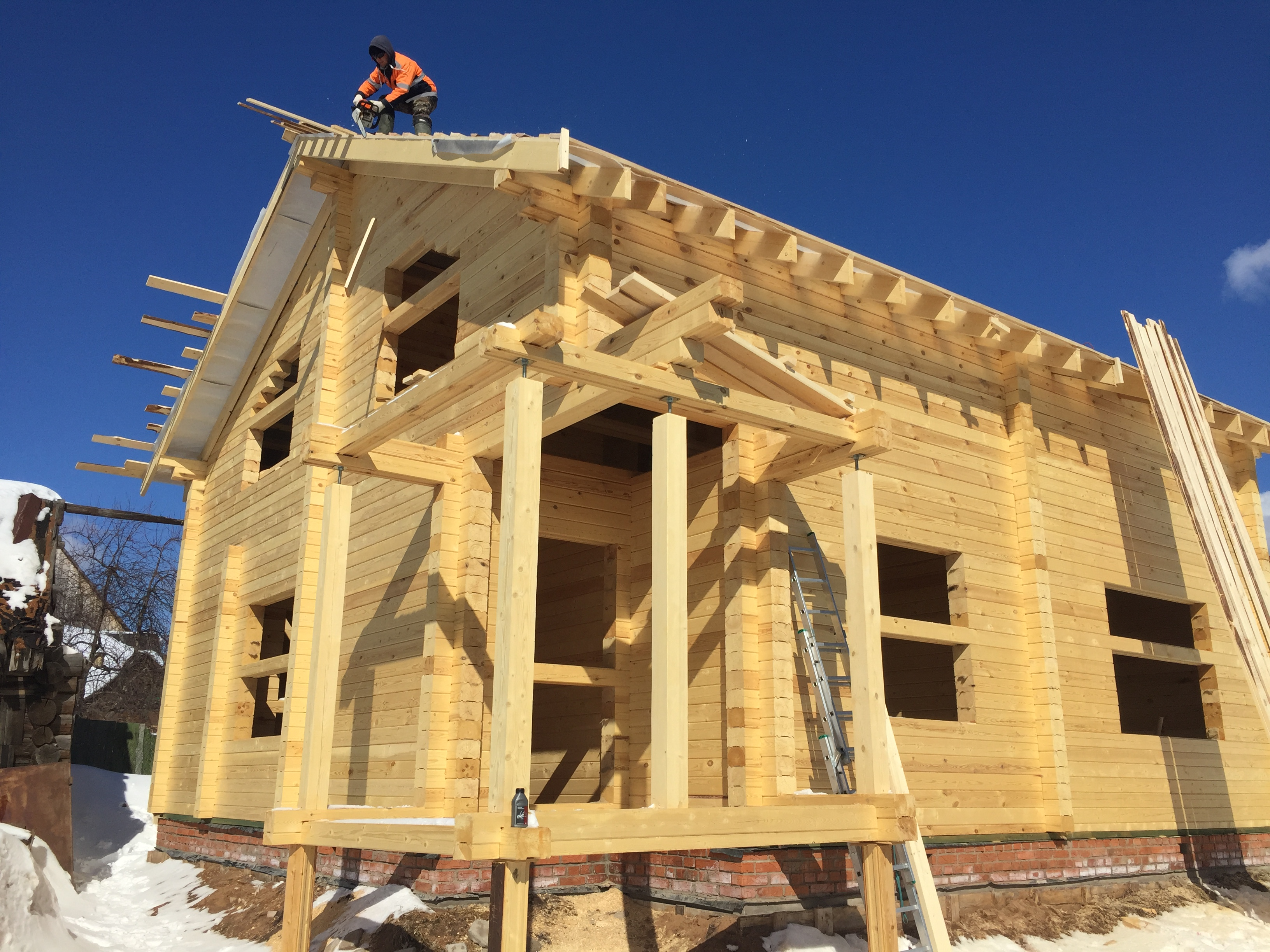 Строительство деревянного дома под ключ в Ижевске