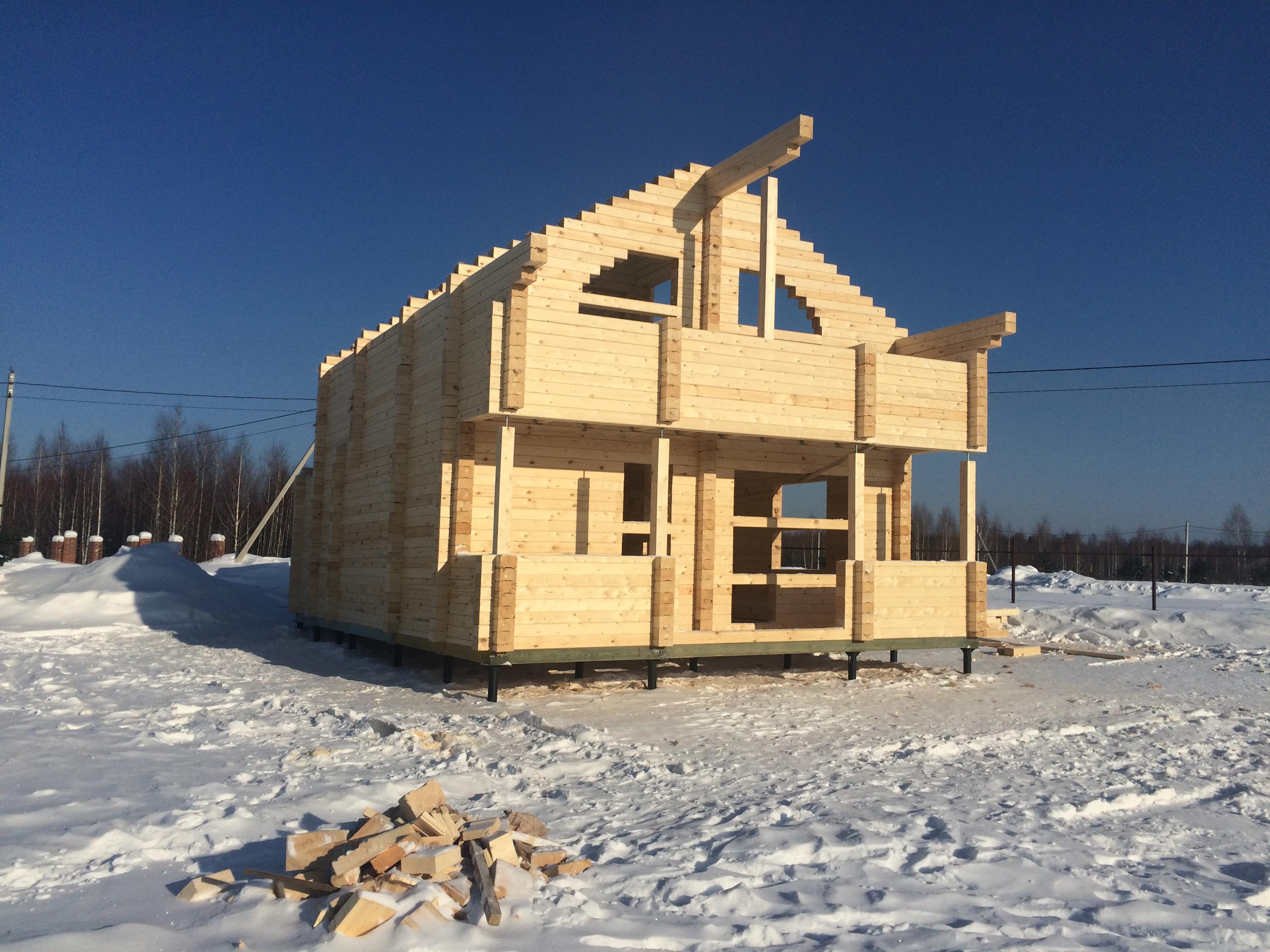 Дом из дерева. Берри Хилс