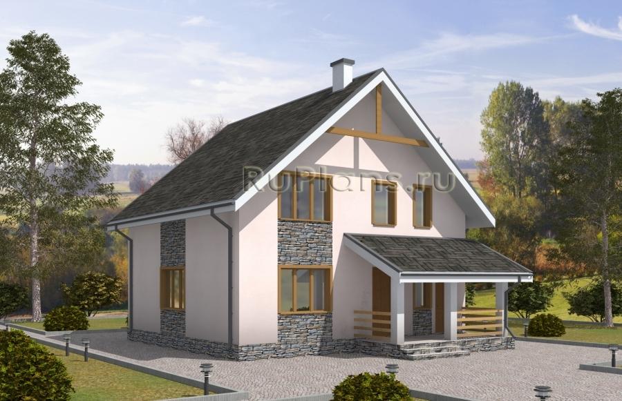 Дом с мансардой ЛСП5045