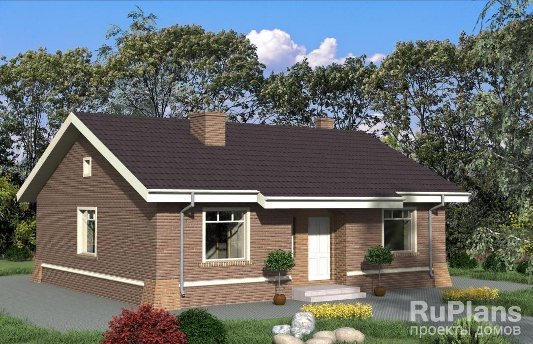 Проект загородного дома ЛСП4850