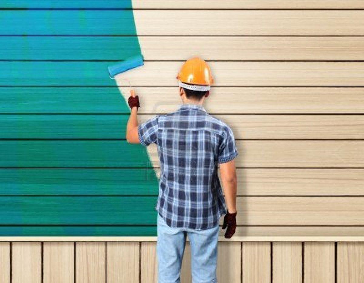 Стоимость покраски дома (материалы включены)