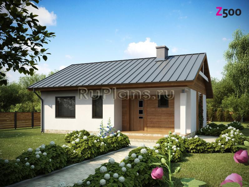 Проект приятного глазу недорогого дома ЛСП1195