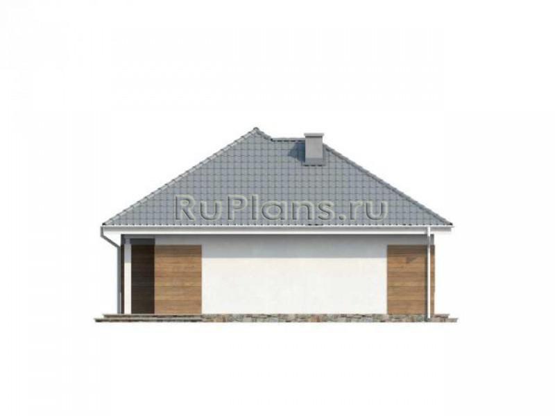 Проект современного небольшого загородного дома ЛСП1161