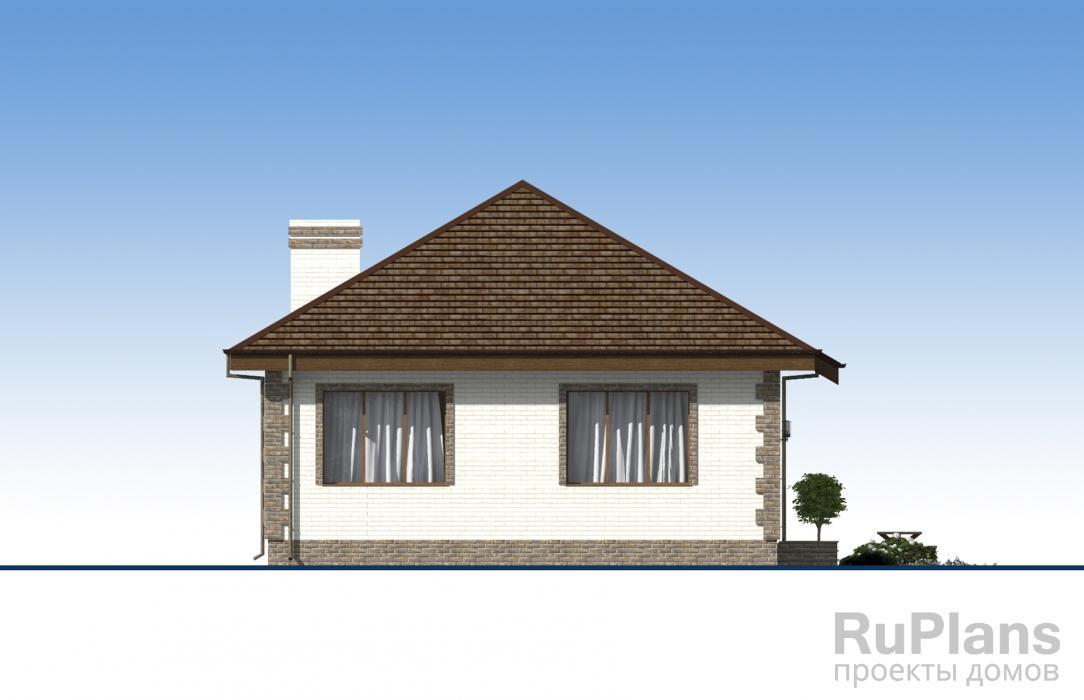 Одноэтажный жилой дом ЛСП3446
