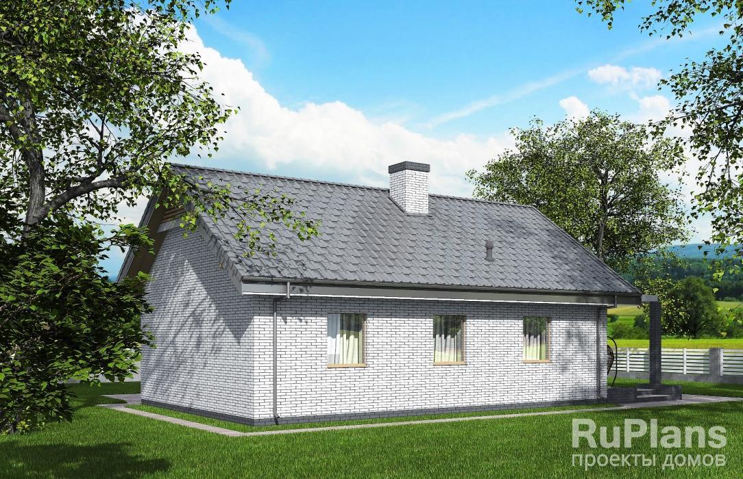 Одноэтажный дом ЛСП5350