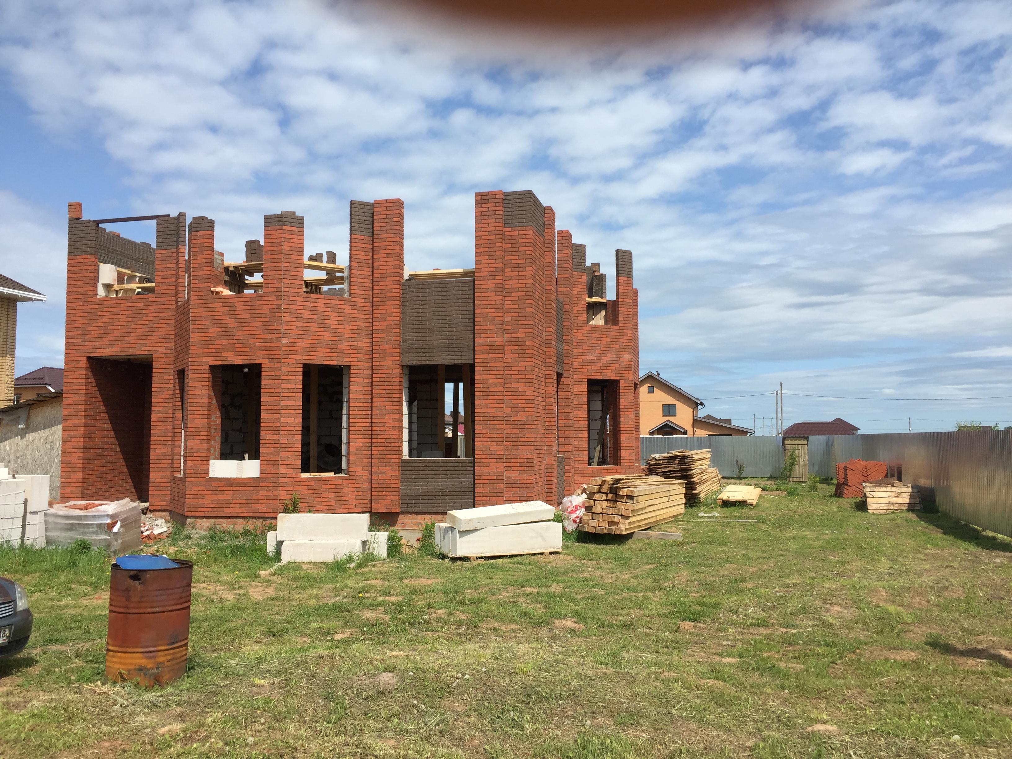 Дом из пеноблоков. село Старомихайловское