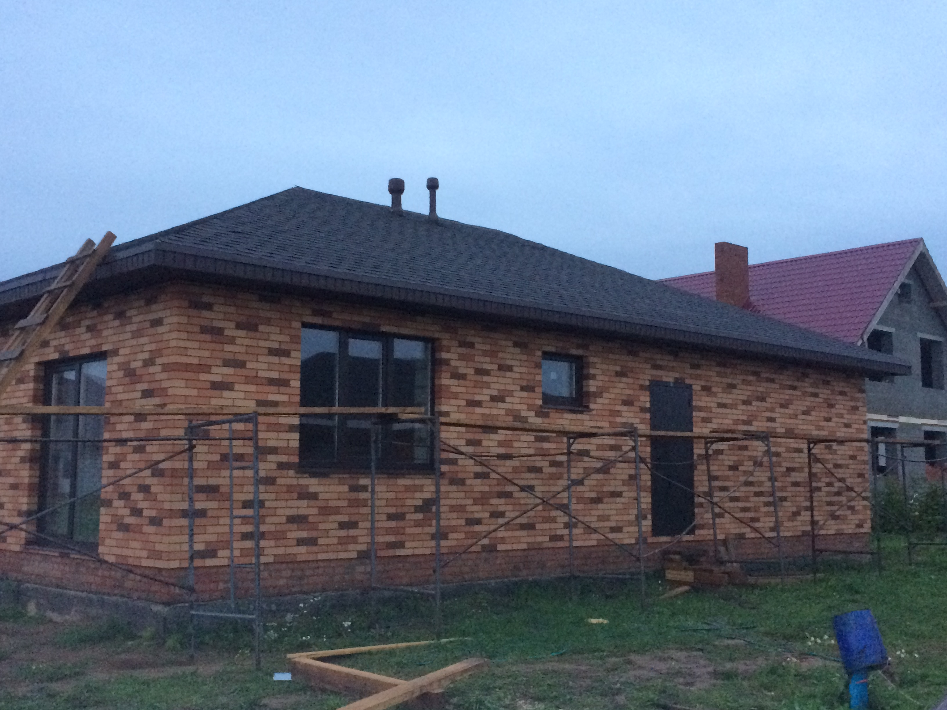 Дом из кирпича. село Старомихайловское