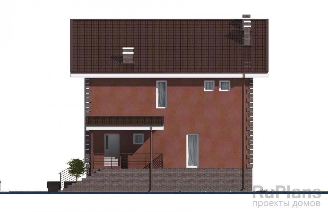 Проект компактного двухэтажного дома ЛСП3420