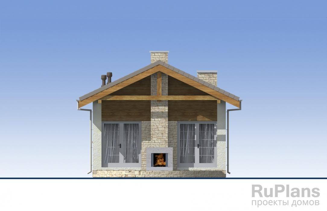 Проект одноэтажного жилого дома ЛСП5183