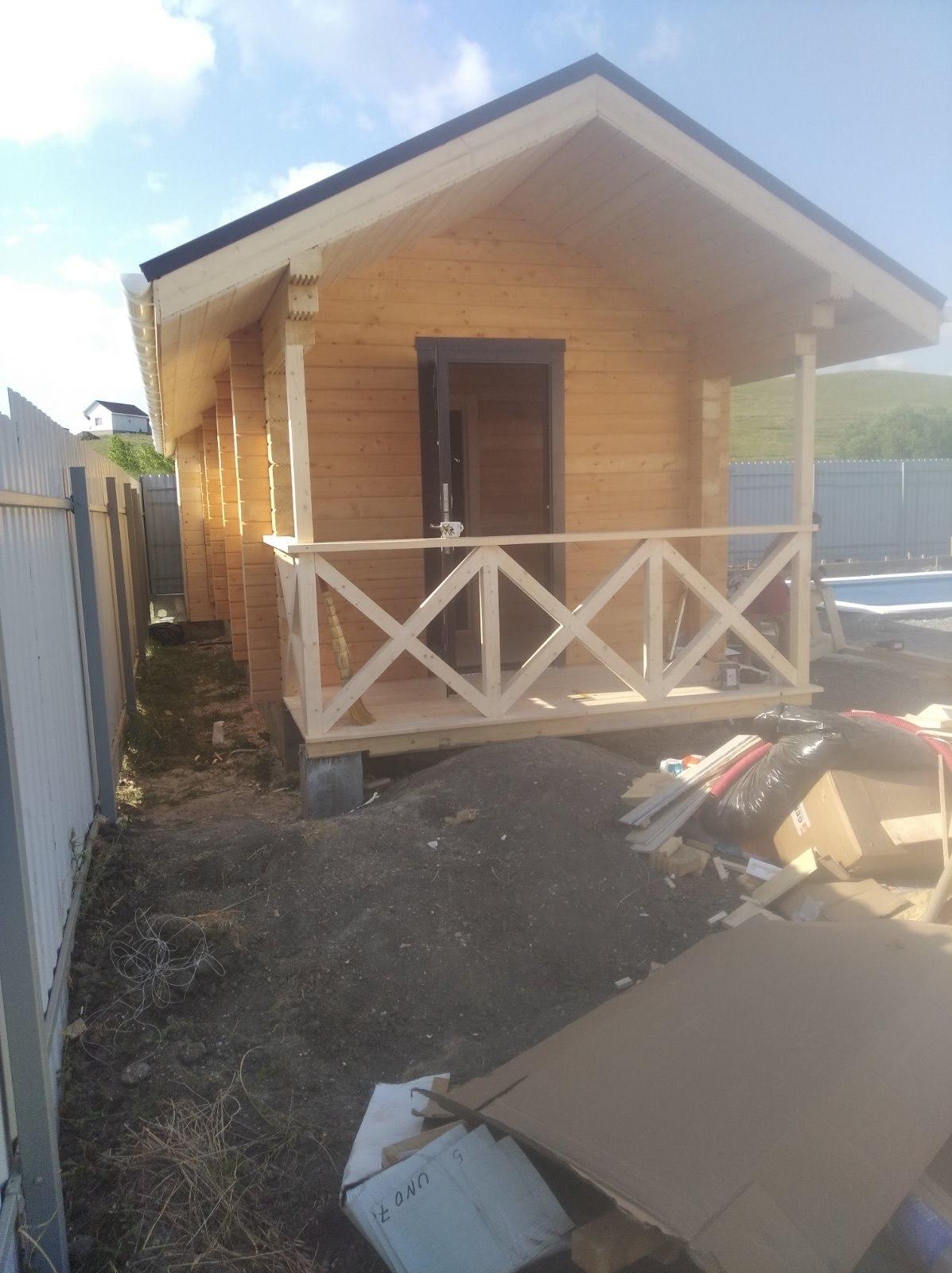 Строительство бань в Ижевске