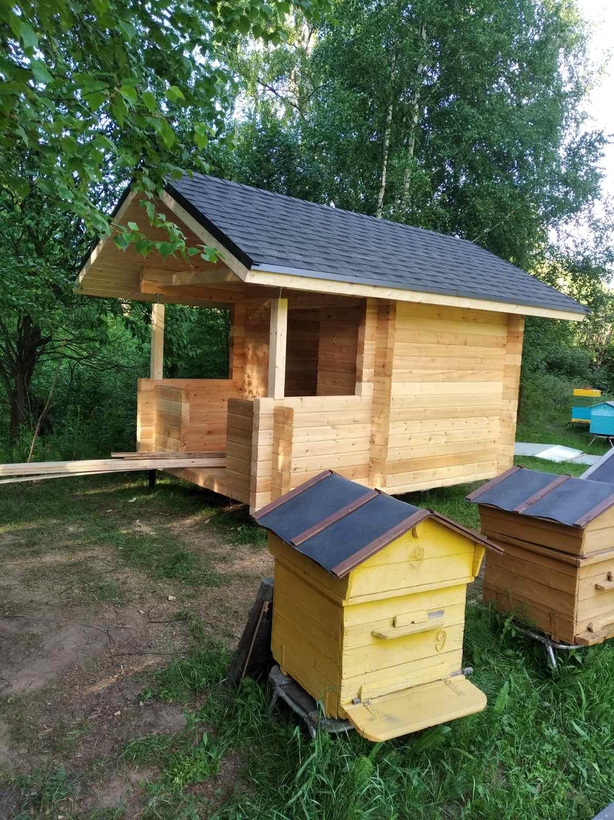 Домик для пчёл из профилированного бруса